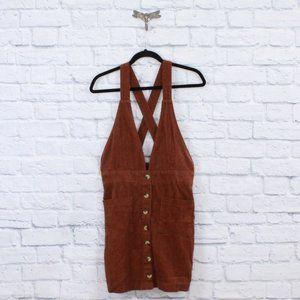 INDIGO REIN Corduroy Mini Skirt Romper Size 9